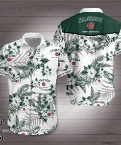 Jameson irish whiskey hawaiian shirt