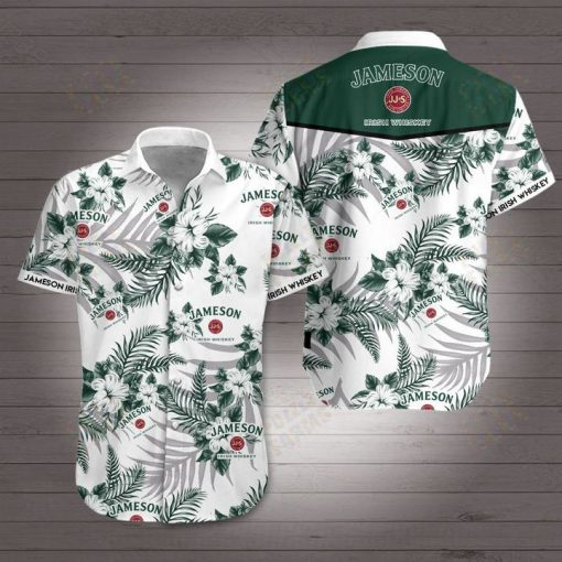 Jameson irish whiskey hawaiian shirt 4