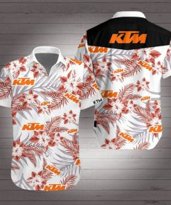 KTM racing hawaiian shirt 3