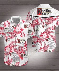 Ketel one vodka hawaiian shirt 2