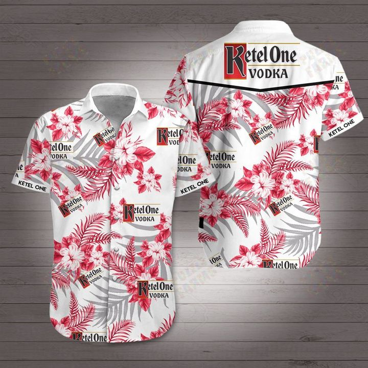 Ketel one vodka hawaiian shirt 3