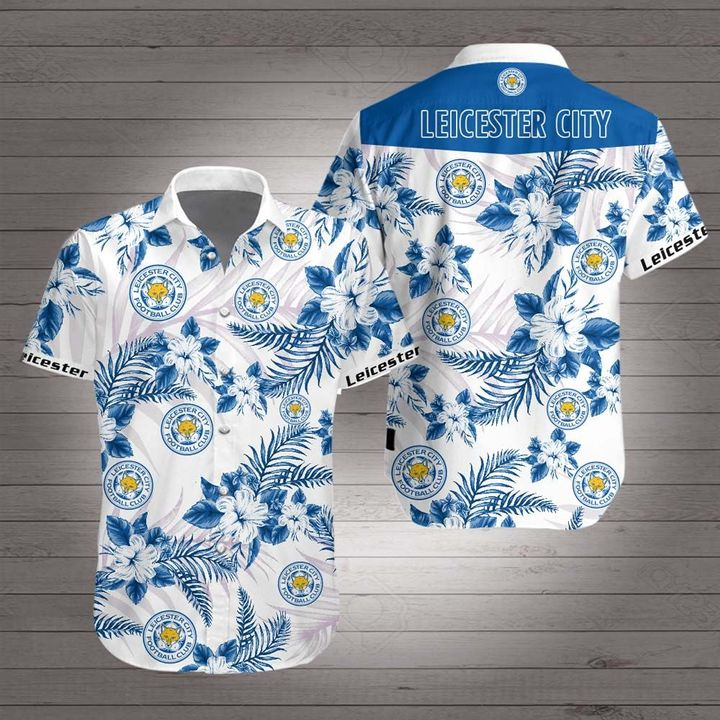 Leicester city hawaiian shirt 2