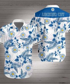 Leicester city hawaiian shirt 3