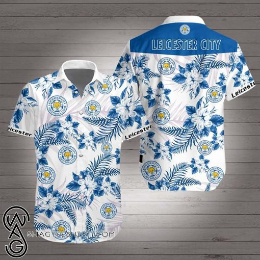 Leicester city hawaiian shirt