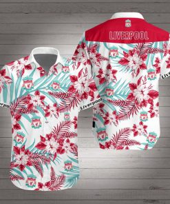 Liverpool football club hawaiian shirt 1