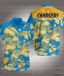 Los angeles chargers hawaiian shirt