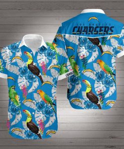 Los angeles chargers team hawaiian shirt 1