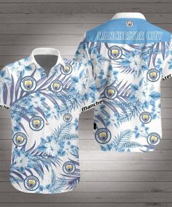 Manchester city hawaiian shirt 1