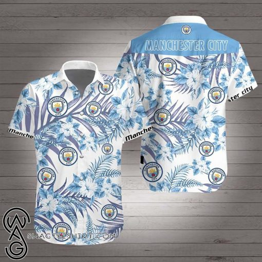Manchester city hawaiian shirt