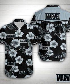 Marvel floral hawaiian shirt 4