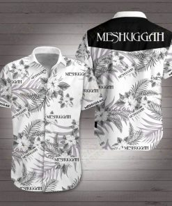 Meshuggah rock band hawaiian shirt 1