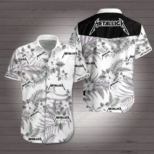 Metallica hawaiian shirt 4