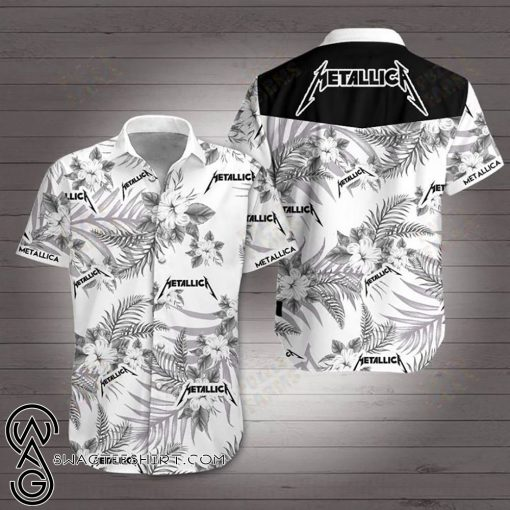Metallica hawaiian shirt