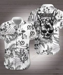 Metallica rock band hawaiian shirt 1