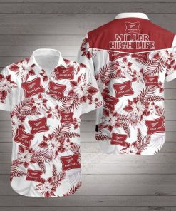 Miller high life hawaiian shirt 1