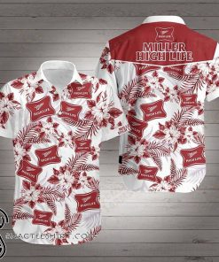 Miller high life hawaiian shirt