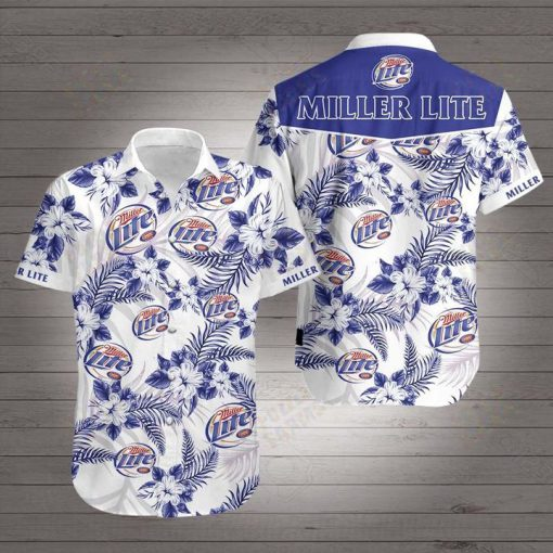 Miller lite hawaiian shirt 1