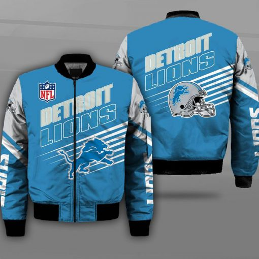 NFL detroit lions football team full printing bomber