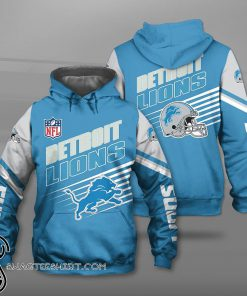 NFL detroit lions football team full printing shirt