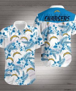 NFL los angeles chargers hawaiian shirt 2
