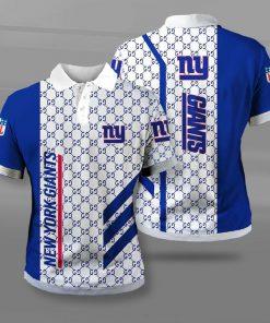NFL new york giants team logo full printing polo