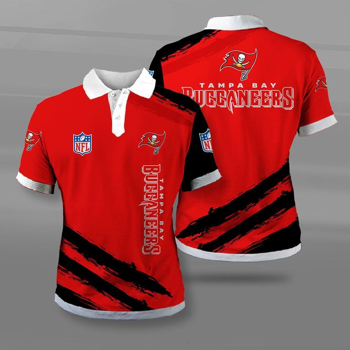 NFL tampa bay buccaneers full printing polo