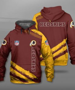 NFL washington redskins team full printing hoodie