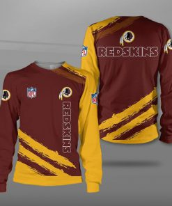 NFL washington redskins team full printing sweatshirt