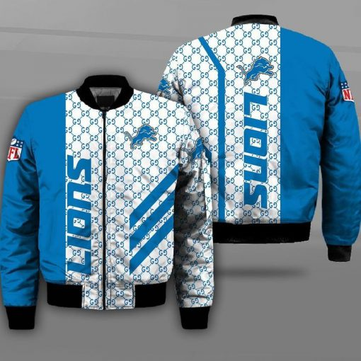 National football league detroit lions full printing bomber