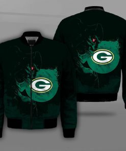 National football league green bay packers terminator full printing bomber