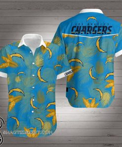 National football league los angeles chargers hawaiian shirt