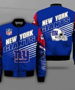 National football league new york giants team full printing bomber