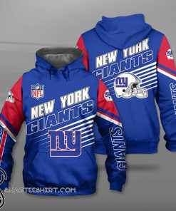 National football league new york giants team full printing shirt