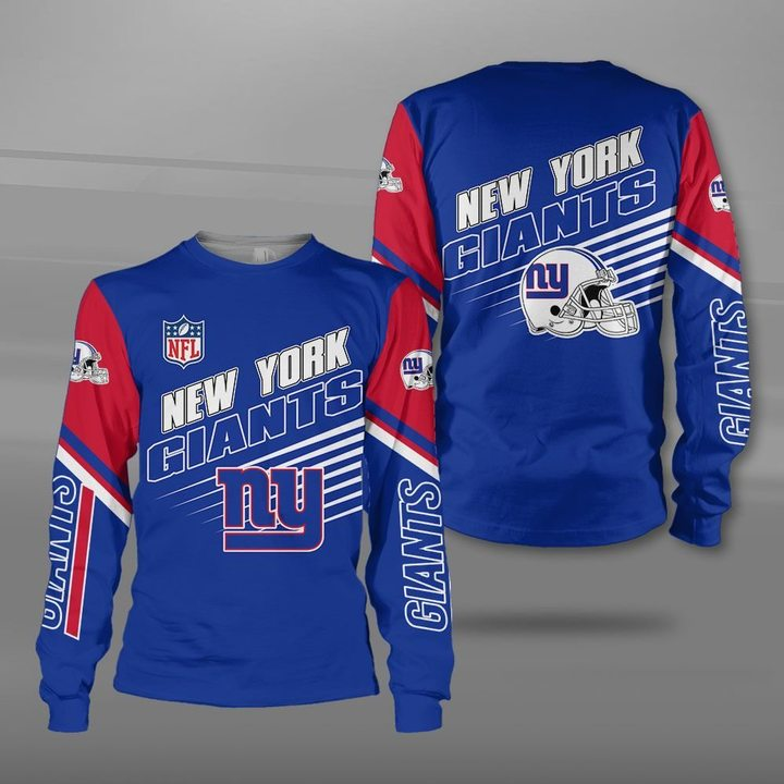 National football league new york giants team full printing sweatshirt