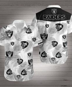 National football league oakland raiders hawaiian shirt 2