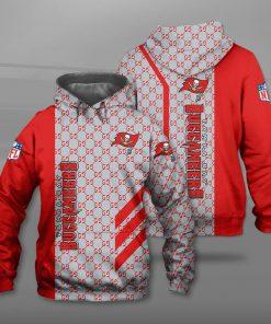 National football league tampa bay buccaneers full printing hoodie