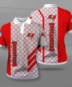 National football league tampa bay buccaneers full printing polo