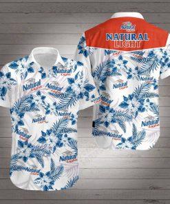 Natural light beer hawaiian shirt 3