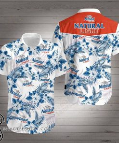 Natural light hawaiian shirt