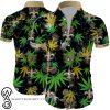New orleans saints cannabis all over printed hawaiian shirt