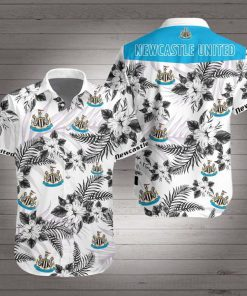Newcastle united football club hawaiian shirt 1
