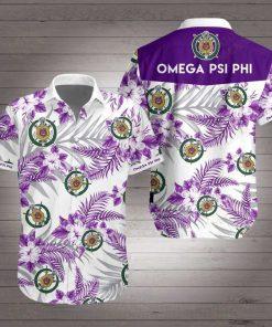 Omega psi phi hawaiian shirt 2
