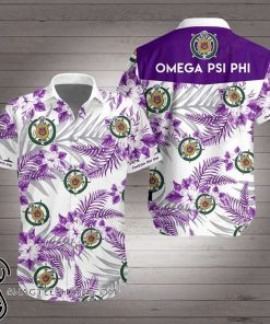 Omega psi phi hawaiian shirt