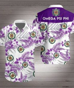 Omega psi phi hawaiian shirt 3