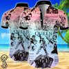 Queen all over printed hawaiian shirt