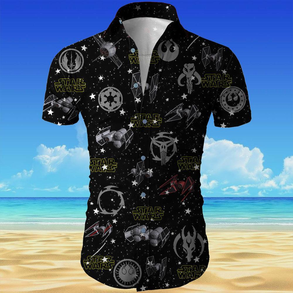 Star wars all over printed hawaiian shirt 3