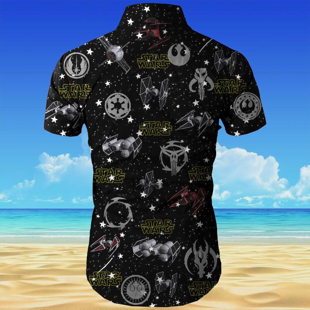 Star wars all over printed hawaiian shirt 4