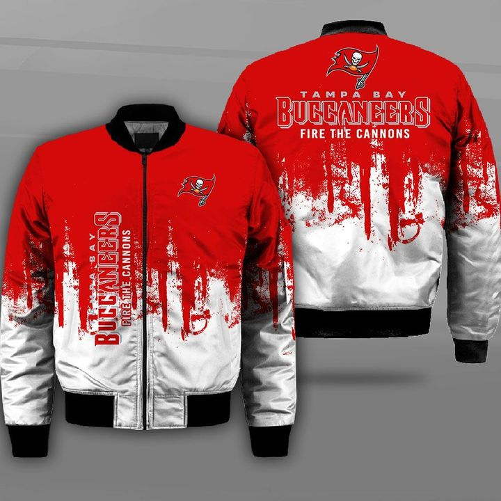 Tampa bay buccaneers fire the cannons full printing bomber