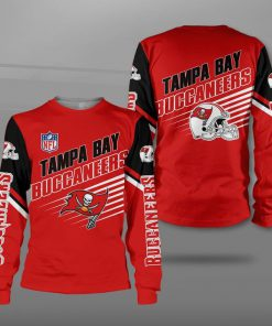 Tampa bay buccaneers football team full printing sweatshirt