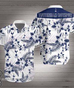 Tottenham hotspur hawaiian shirt